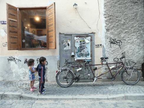La triplette Tarantasse en Roumanie