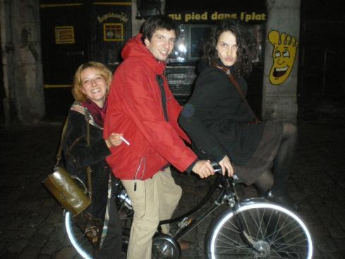 Nina, Matao (triplette 2007 et ne s'en remet pas!) et Lola (triplette 2009)