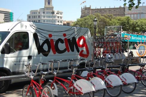 Bicing système de Barcelone