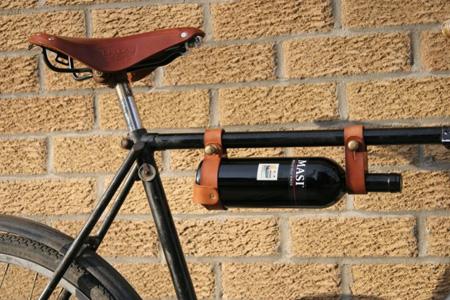 porte bouteille de vin pour vélo