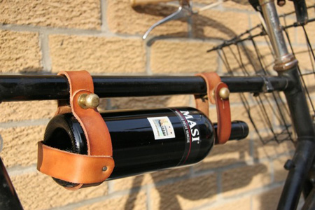 wine holder for bicycle