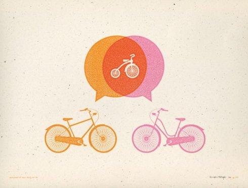 Poster Vélo Allan Peters