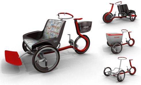 Tricycle Citycle de Peter Varga