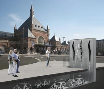 Station Vélo design RAFAA