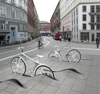 Station vélo design par RAFAA