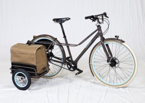 Ziba Design x Signal Cycles - vélo sidecar